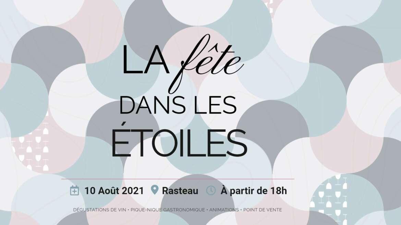 """""""La Fête dans les Étoiles"""" – Noteer 10 augustus in je agenda"""